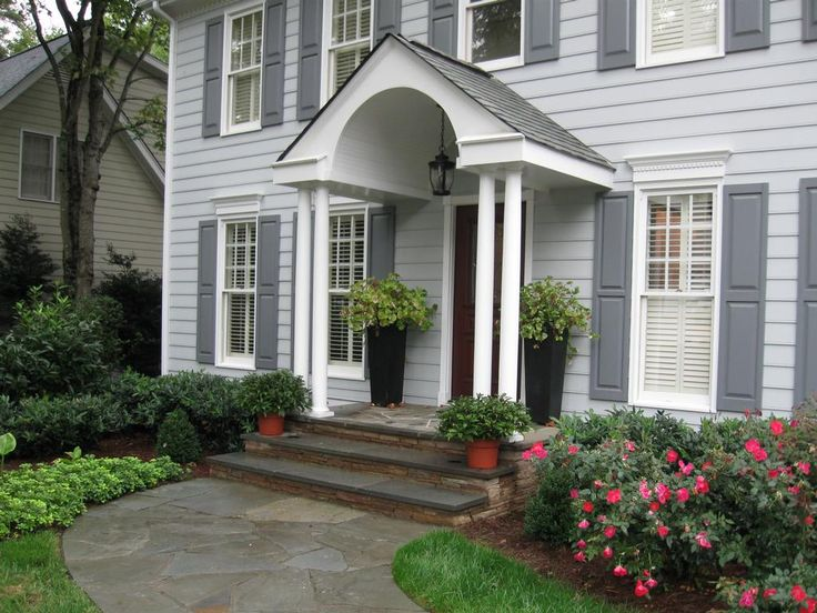 38 best images about landscaping plans on pinterest for Bluestone porch