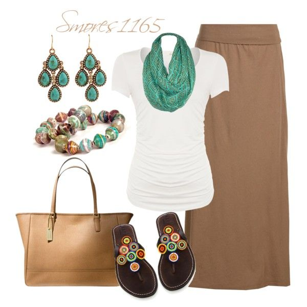 """""""Spring Maxi Style"""" by smores1165 on Polyvore"""