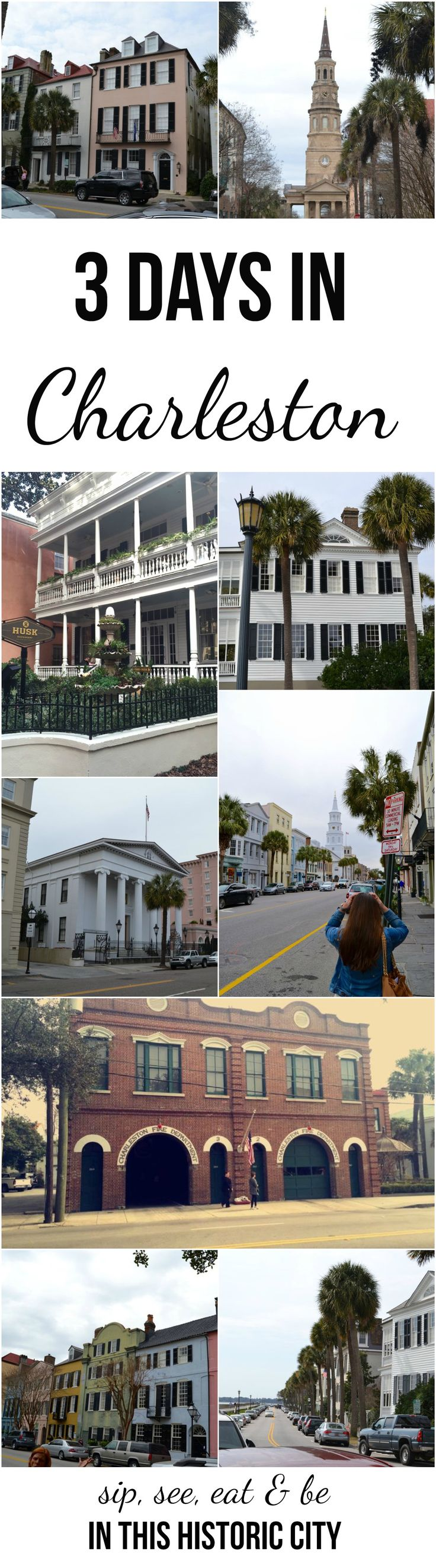 fun-filled weekend in Charleston {restaurants, bars, breweries & tours}