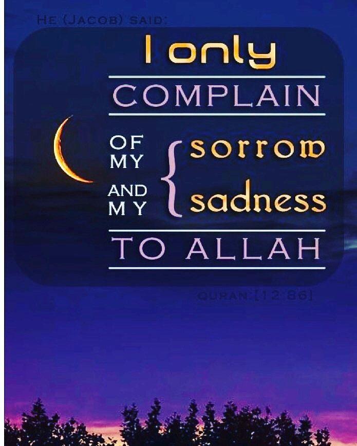 Sorrow # Sadness # Allah
