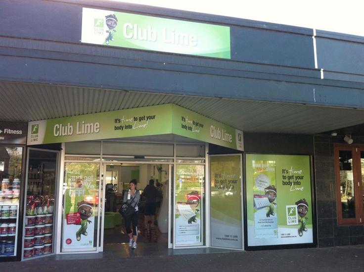 Club Lime Signage design & development