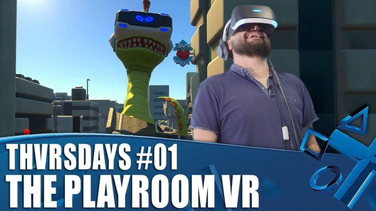 The Playroom VR - New PSVR Gameplay | THVRSDAYS Episode 01