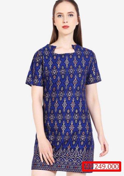 Model Baju Batik Terusan Pendek Dresses Dresses Short Sleeve