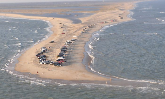 Cape Point - shell hunting and surf fishing -Road Trip: Outer Banks Scenic Byway | Garden and Gun