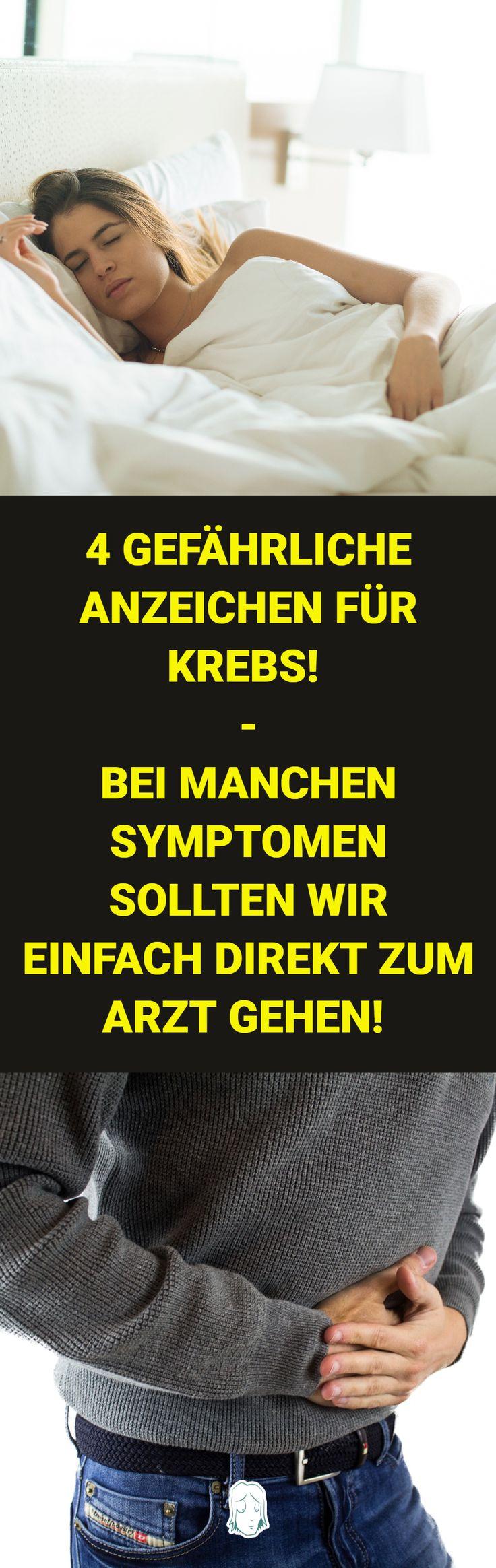 Gefährliche Anzeichen für Krebs, die viele Menschen ...