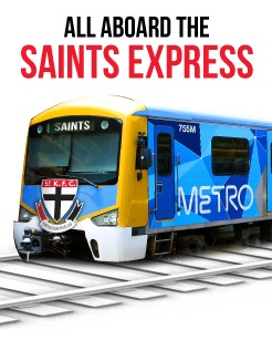 All aboard the Saints Express! - Official AFL Website of the St Kilda Football Club