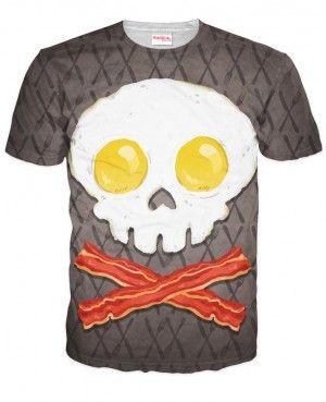 JAJKO I BEKON Koszulka Tshirt Full Print