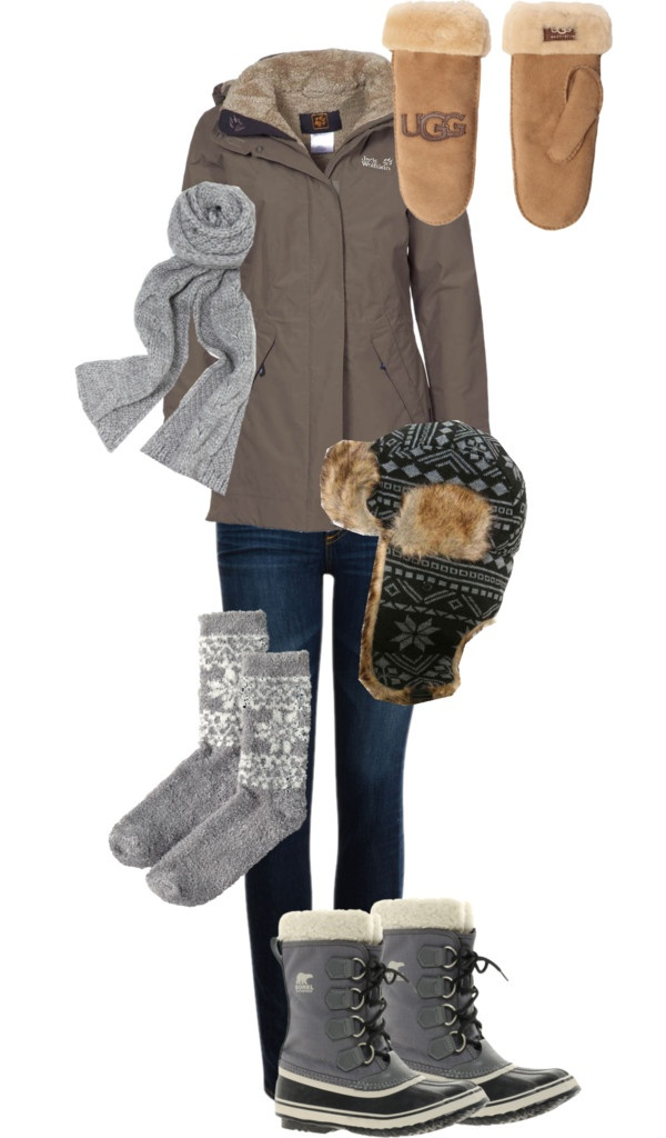 """Canadian Winter"" by watersky on Polyvore"