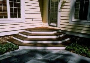 deck plans stairs