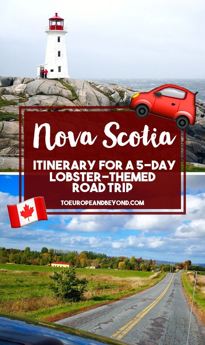 Places you absolutely cannot miss on a Nova Scotia road trip, from lobster pounds to historic UNESCO heritage sites. Also includes useful tips!