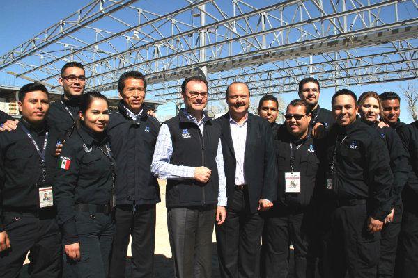 El secretario de Hacienda Luis Videgaray Visita Ciudad Juárez