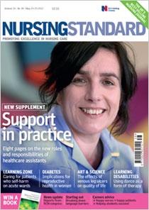 Nursing Standard - the UKs best selling nursing journal