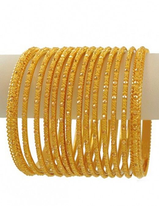Gold Bangles Collection