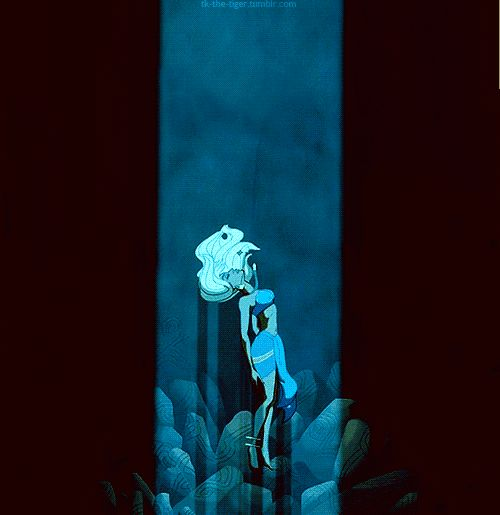 """14. When Kida is possessed by the crystal. 