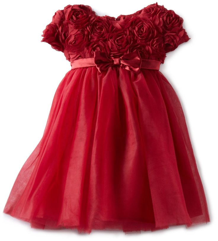 photos of Christmas dresses for little girls  | Girls Holiday Dresses 2012 . The Holiday season is here and whats a ...