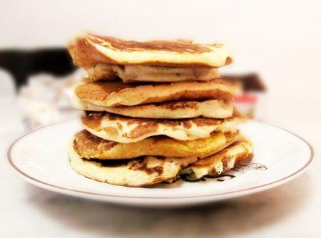 Quer apostar em uma receitinha americana? #pancakes #panquecas #receitas #food #cook