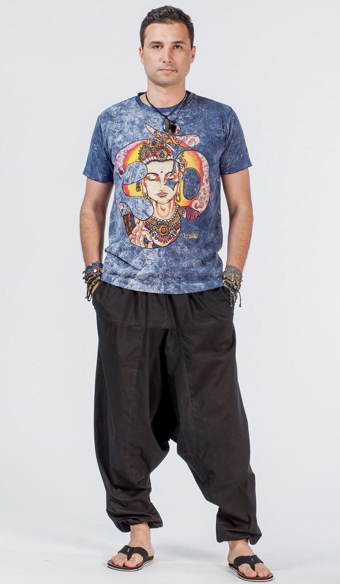 Тайская футболка, тайский стиль, принт ОМ, этнический стиль, индийская одежда, мужская футболка для йоги, Thai -shirt , Thai style , OM print , ethnic style , Indian clothes , men's t-shirt for yoga. 1360 рублей