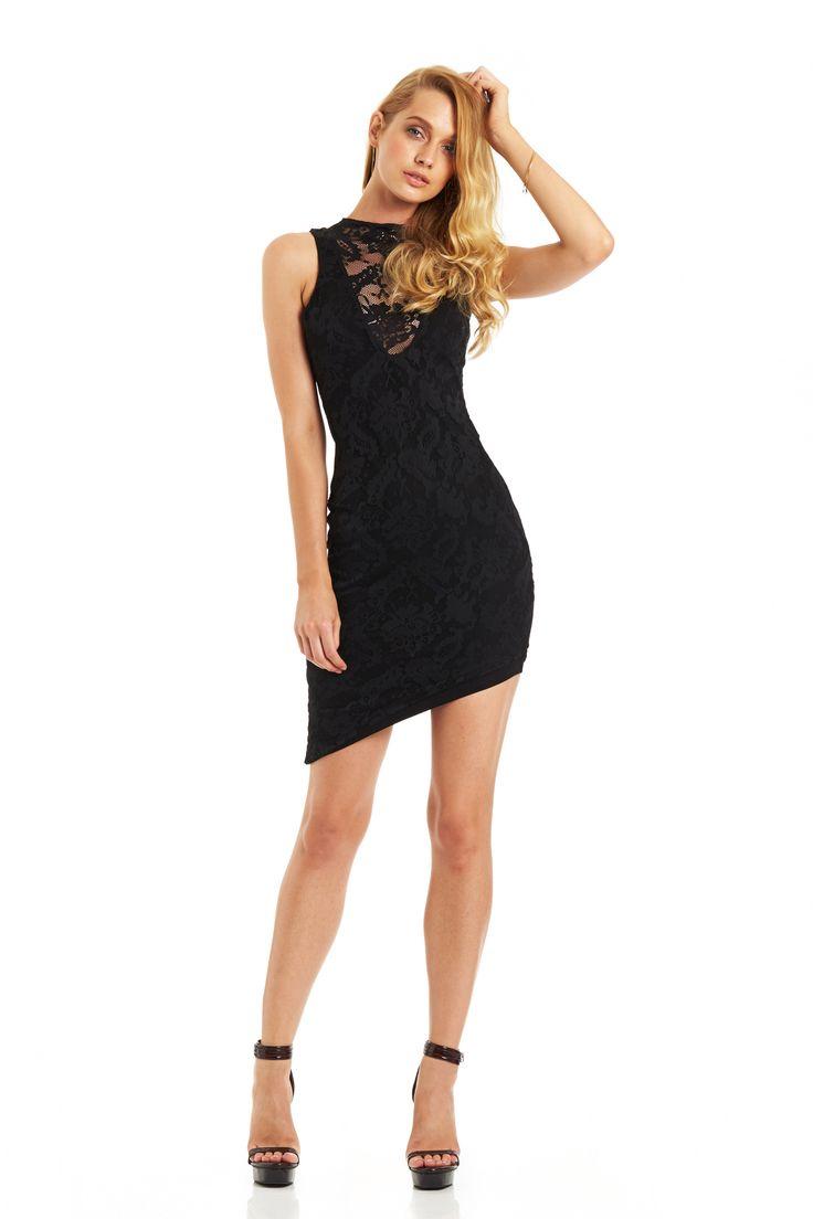 RENEGADE LACE DRESS (Black) #nookie #nt14