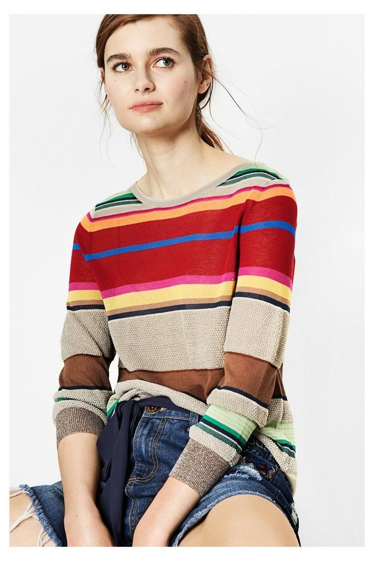 Jersey de tricot suave - Begoña | Desigual.com 6004