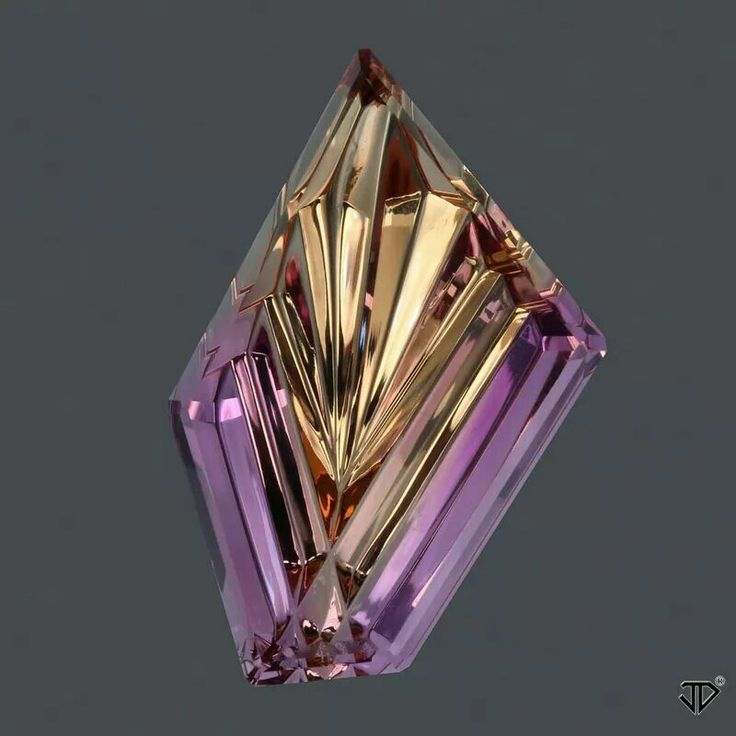 36.20 cts Bolivian Ametrine Dreamscape™ Cut Available www.johndyergems.com/Ametrine  #Ametrine #Pendant #JohnDyerGems