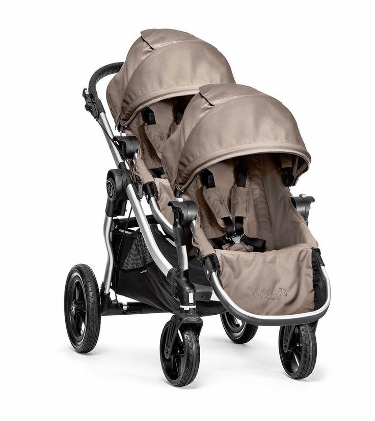 Baby Jogger City Select Double Stroller - Quartz
