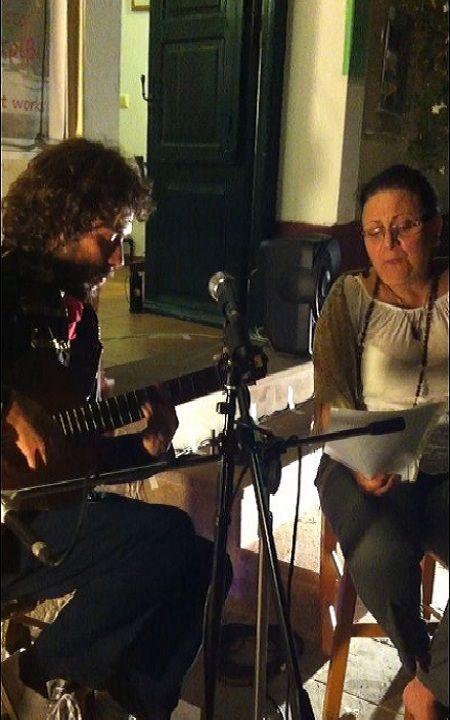 Folk music with Rafel Zhiethen (here singing a duet with soprano Larisa Iasonidou)