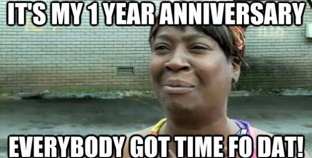 Unique Anniversary Meme Anniversary Funny Anniversary Meme Happy Anniversary Funny