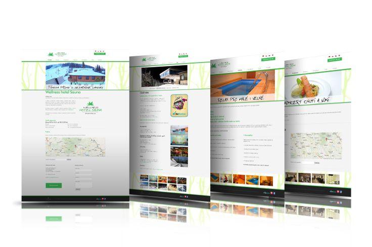 Webová prezentace | Wellness hotel Sauna | Jeseníky 2013