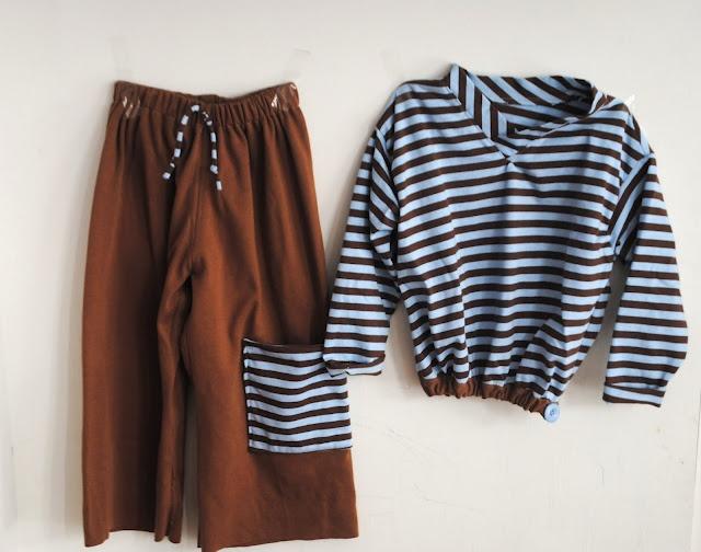 Pauley's Pullover and Kickin' Back Sweats in knit interlock.