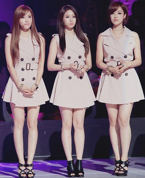 T-ara - Hyomin, Jiyeon & Eunjung | T-ara | Pinterest