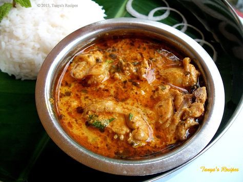 Koli Saaru/Chicken Curry | Tanya's Recipes