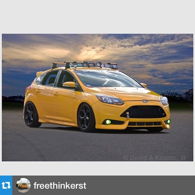 Yellow Ford Focus St Mk3 Focus St 3 Pinterest Ford