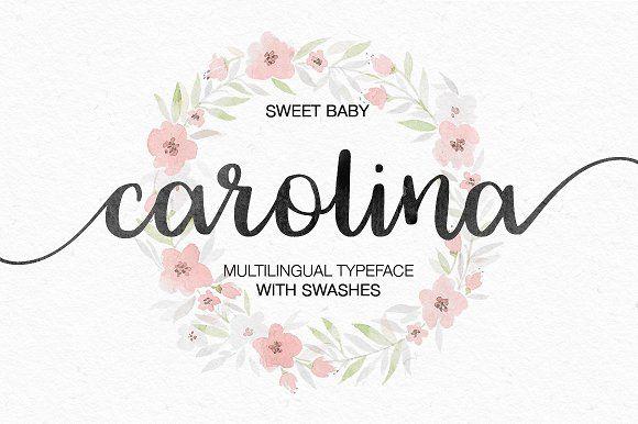 Carolina by MediaLab.Co on @creativemarket