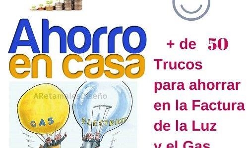 Más de 50 trucos para ahorrar en la factura de luz y gas en casahttp://www.martabergada.com/ahorrar-en-la-factura-de-luz-y-gas-en-casa/