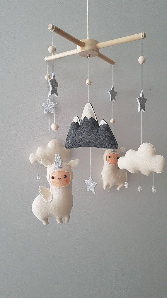 Crib Mobile Nursery Mobile Stars Nursery Decor Stars Baby