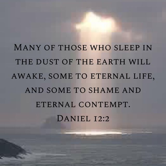 Daniel 12 2 Prayer Scriptures Bible Truth Bible Posters