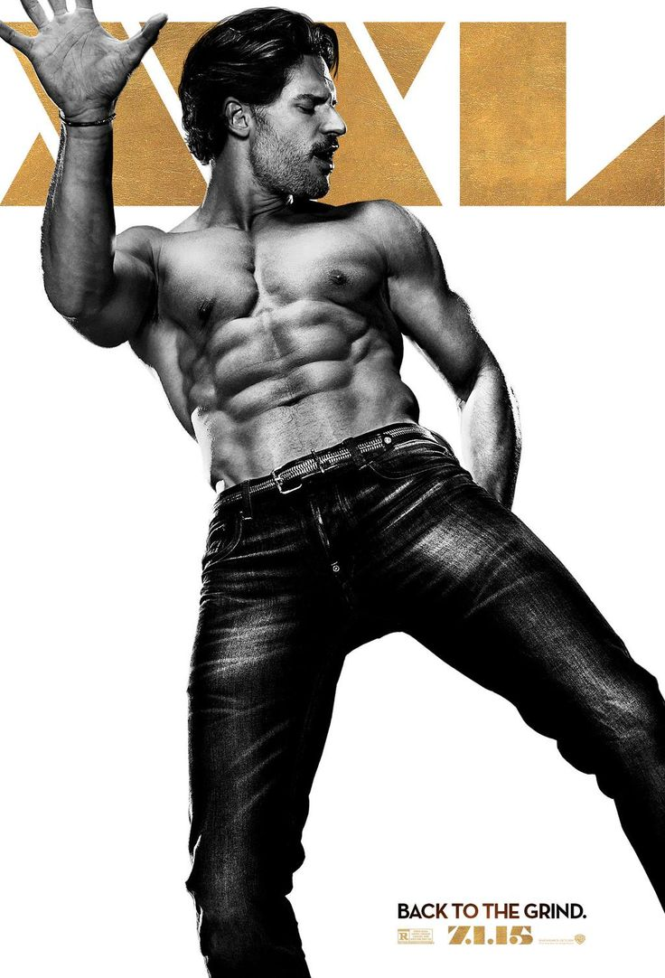 Joe Manganiello released this poster for Magic Mike XXL and I'm drooling.
