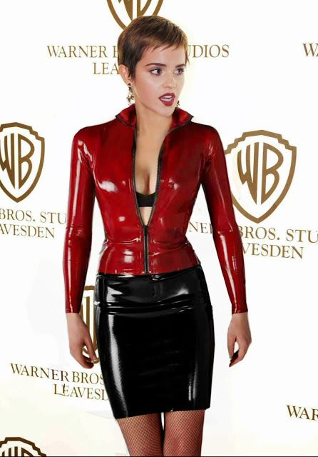 Smooth Slick n Shiny. The kinky dreams of Andy.latex.....: Search results for emma watson