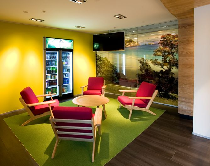 Frucor beverages office by spaceworks