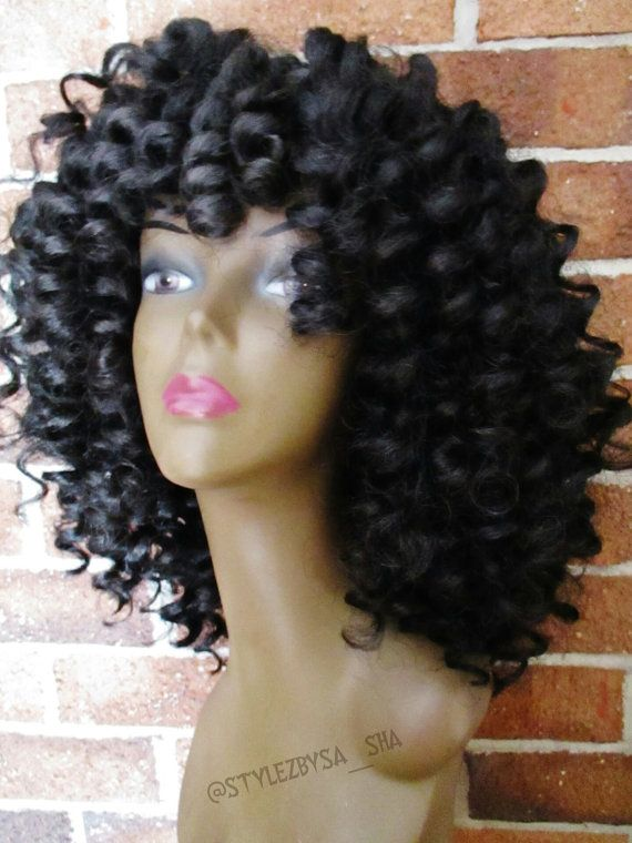 Crochet Hair Unit : Style Crochet Wig Units Www.Etsy.com/shop/crochetroyalwigs @crochet ...