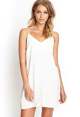 Double V Slip Dress Forever21 2000062643 Summerforever F21xme What To Wear Pinterest Dresses On And Fashion