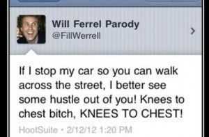 Will Ferrel Parody, listen up, folks!