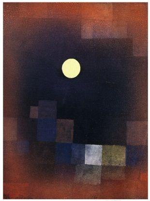 Pintando sonrisas de colores: Salida de la luna. Paul Klee