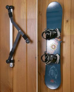 Bordz-Up Snowboard Display and Storage Rack