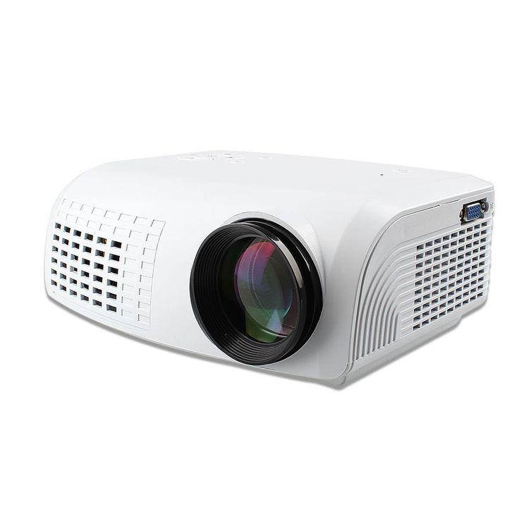 1080P HD Home Cinema Theater Multimedia LCD Projector PC AV TV VGA USB HDMI  | eBay