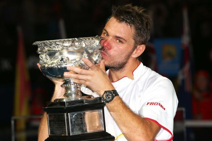 """AustralianOpen 2014: I never expected to win a grand slam, says champion StanislasWawrinka Stanislas Wawrinka savours his """"dream"""" Australian Open victory after defeating world No1 #RafaelNadal in the final.  The newest member of the grand slam club was still trying to digest the transformation in his fortunes on Sunday. """"Before today I never expect to play a final,"""" said Stanislas Wawrinka. """"I never expect to win a grand slam. And right now I just did it."""""""