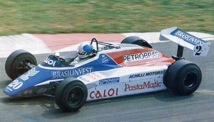 1982 Chico Serra, Fittipaldi F9 - Ford