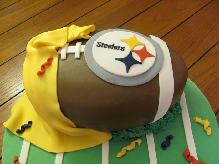 249 best cake designs images on Pinterest Pittsburgh steelers