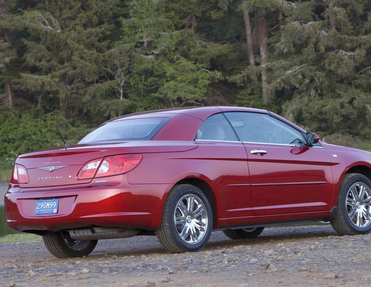 Sebring Cabrio Chrysler model - http://autotras.com