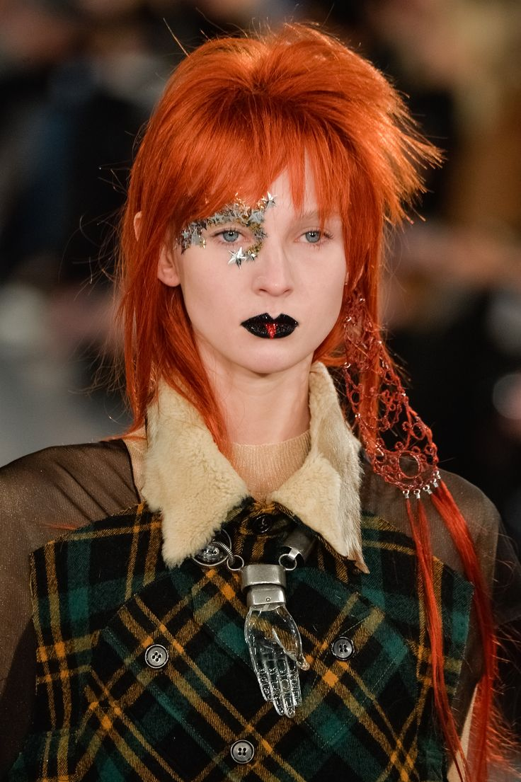 In a Touching Tribute, Pat McGrath Paid Homage to David Bowie for Maison Margiela's Couture Show